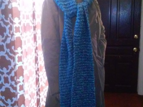 1 Extra Long, Bulky, Cuddly Scarf