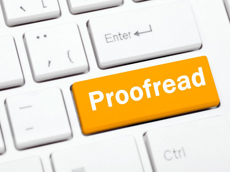 30 minute proofread