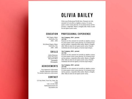 Resume critique