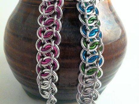 Garterbelt Chainmaille Bracelet