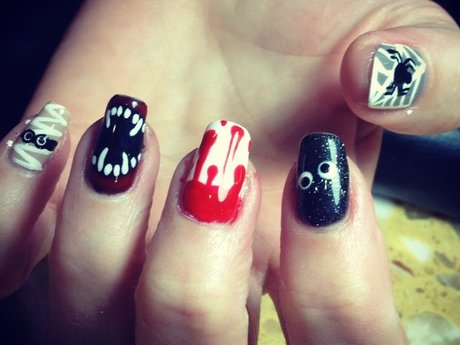 Fun Halloween Nails
