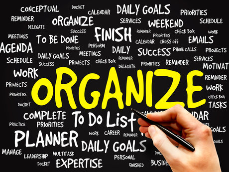 Organizing and or redecorating