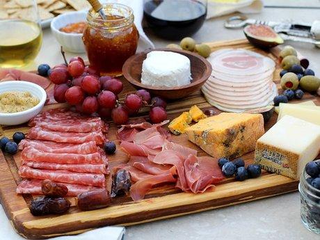 Build a cheese/charcuterie board!
