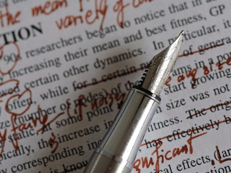 Proofread or copy edit your writing