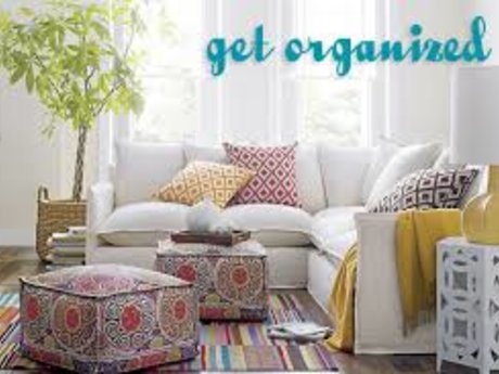 Decluttering and Organization!