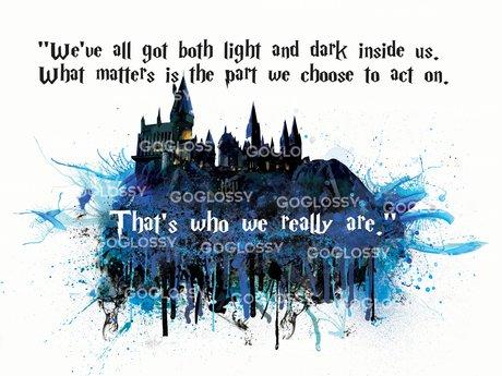 Hogwarts Watercolor WallArt