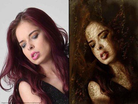 Become a unique gothic artwork