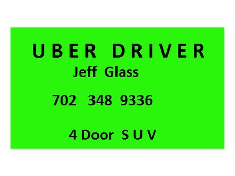 Uber or Lyft    ride      SUV