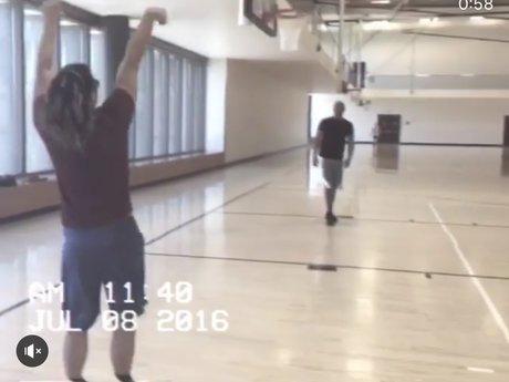Basketball Jump shot training