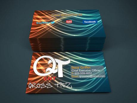 Single-Sided Business Card.