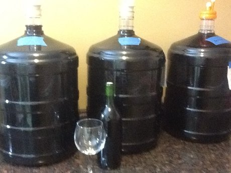 4 gal Homemade table wine