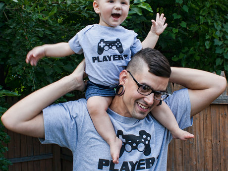 Matching Shirts from DadandLads.com
