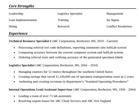 Custom, Professional Resume Editing