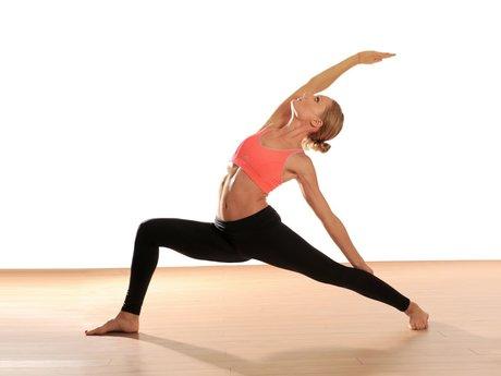 Yoga lessons!