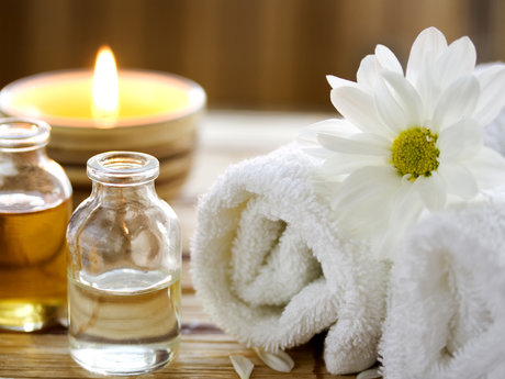 Massage therapy with counseling