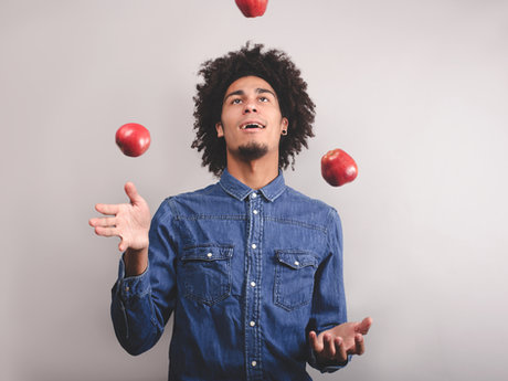 Learn to Juggle quickly and easily