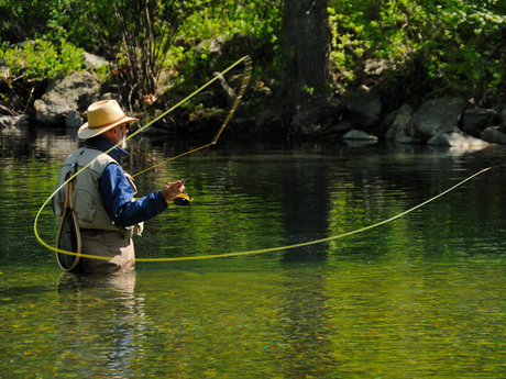 Beginner Fly-Fishing Instruction