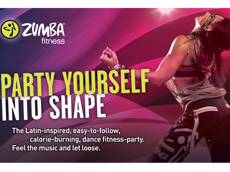 Zumba fitness class!