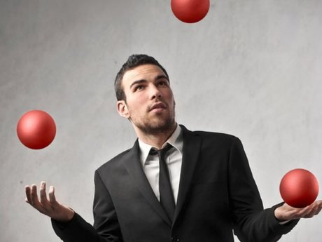 Juggling lesson