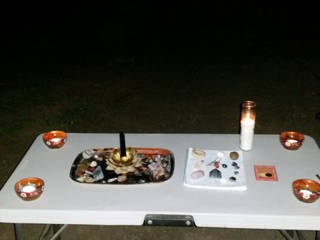 Full moon release candle service