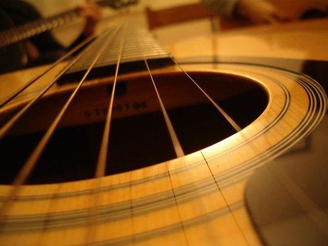 Training on the Basics of Guitar