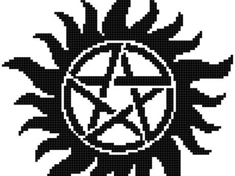 Design a cross stitch pattern