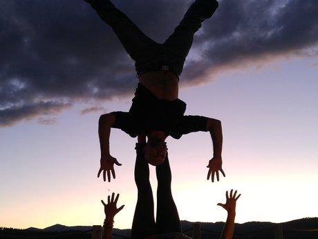 2 hour Acrobatic Partner Yoga