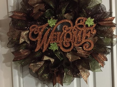One Custom Door Wreath