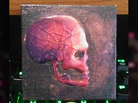 Miniature Skull Painting