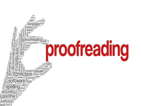 Proofreading  (up to 5 pages)