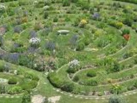 Medicine wheel garden or labyrinth