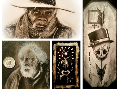 Art Lessons - Pencil, Charcoal, Ink
