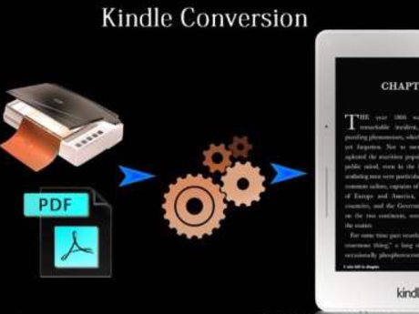 Book conversion to Kindle