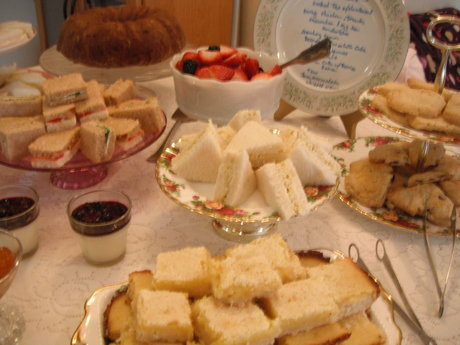 Catered Afternoon Tea Party
