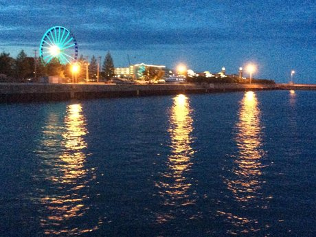 Navy Pier Magnet Postcard