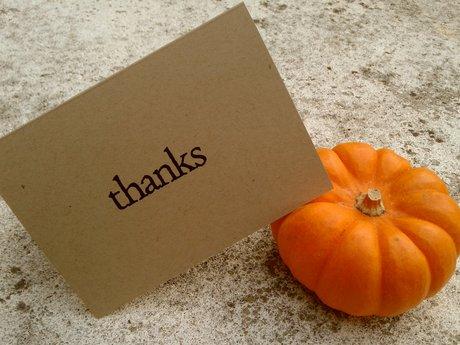 Sarcastic Thank You Card