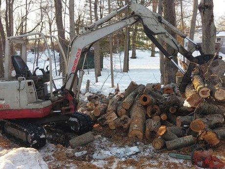 Mini Excavator Work