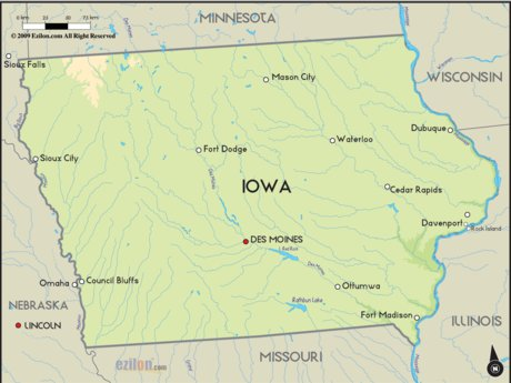 Iowa Travel Suggestions
