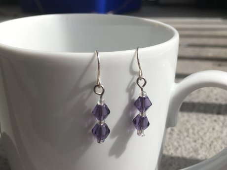 Princess Purple Earrings