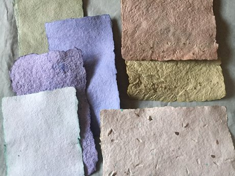 Customize Handmade Paper