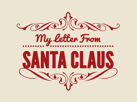 Santa, Reighndeer, or Elf Letters