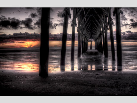 Sunrise Under the Pier (Digital)