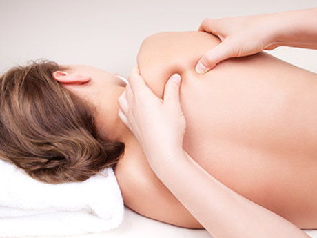 Onsite massage from licensed LMT