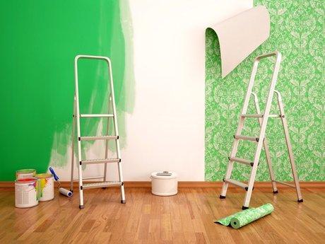 Wall paint touchups & Hole Repair