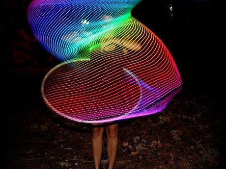 (Hula) hoop dancer