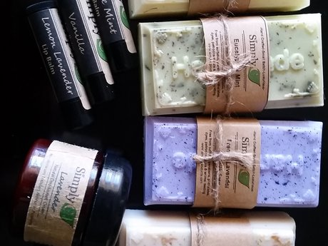 Hand Crafted Soap, Lip Balm & More!