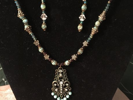 1 of a kind handcrafted necklaces
