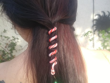 Holiday Hair & Dreadlock Accessory