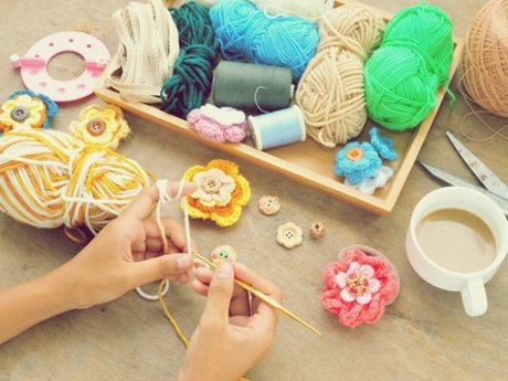 Beginner crochet lessons
