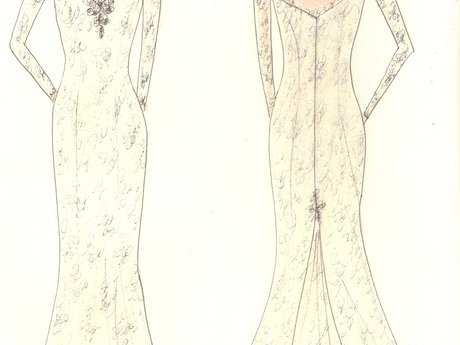 Dream Wedding Dress Sketch